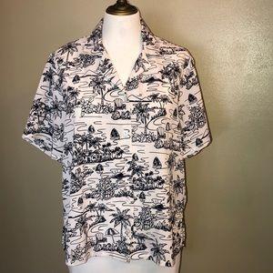 Vngt Hawaiian BonWorth shirt